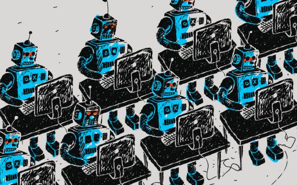 Een robot collega op uw werk?
